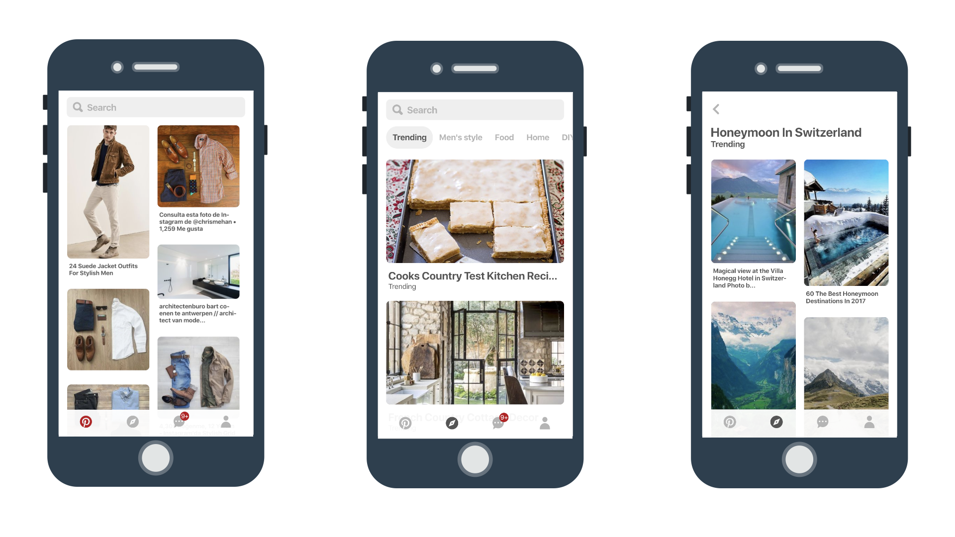 Pinterest's progressive web application
